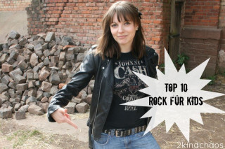 Rock it baby! Meine Top 10 Rockmucke für Kinder